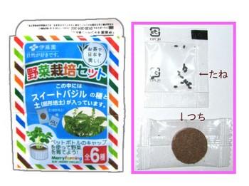 お~いお茶 おまけ 野菜栽培セット.JPG