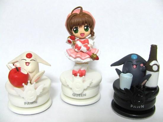 CLAMPキャラクターチェスピース 木之本桜&モコナ=モドキ×2.JPG